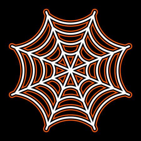 webbing: Spider Web Illustration