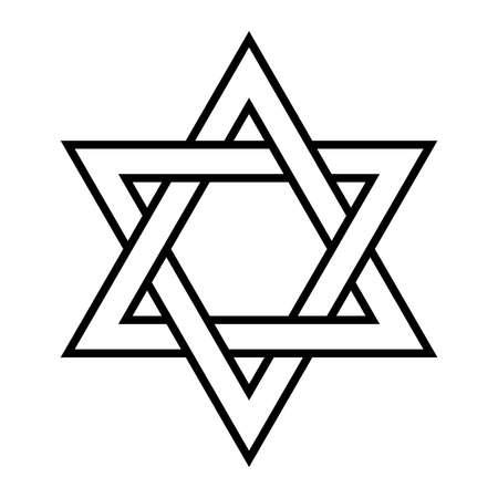 estrella de david: Estrella de David  Vectores