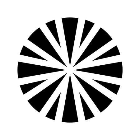 Sun Vector Icon Ilustrace