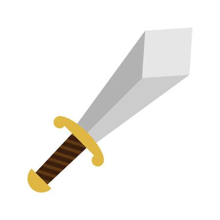 broadsword: Sword vector icon