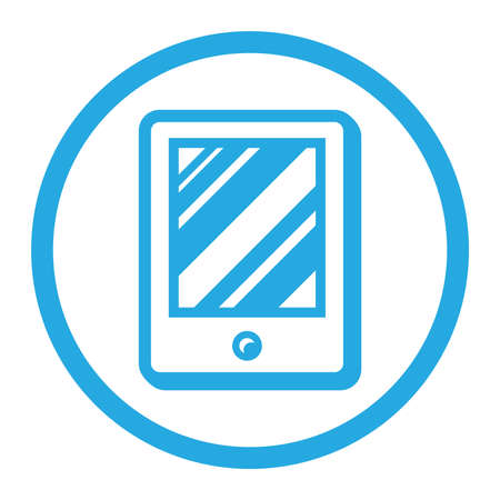 tablet: Tablet vector icon
