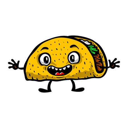 taco: Taco Cartoon
