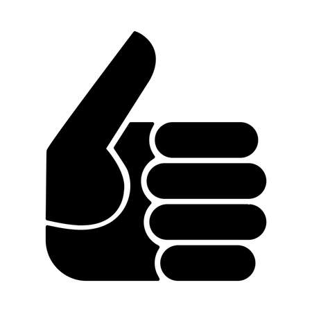affirmative: Thumbs Up Vector Icon