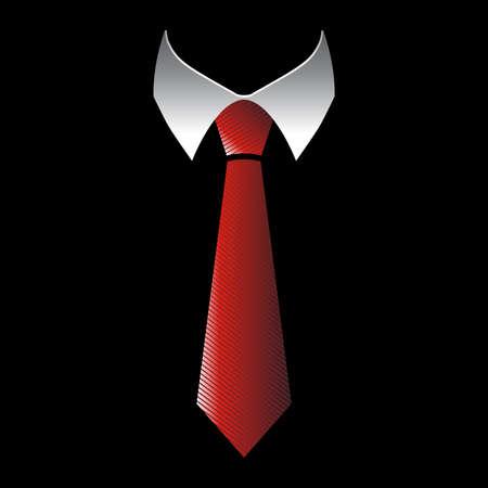 Tie Vector Icon Illustration