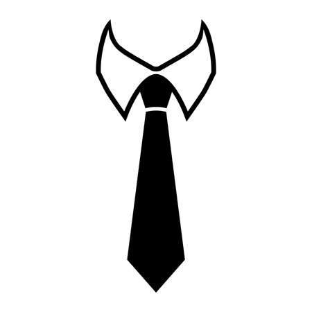 Tie Vector Icon Stock Illustratie