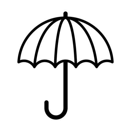 Umbrella vector icon Ilustração
