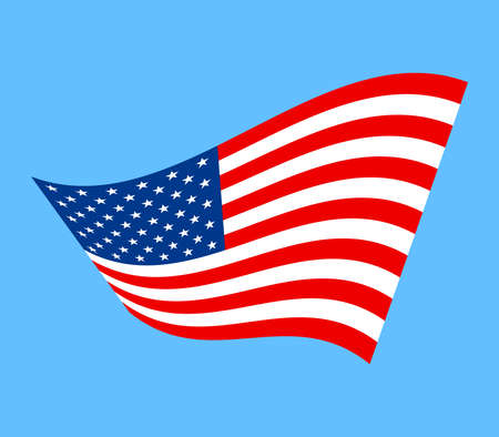 american flag vector icon royalty free cliparts vectors and stock