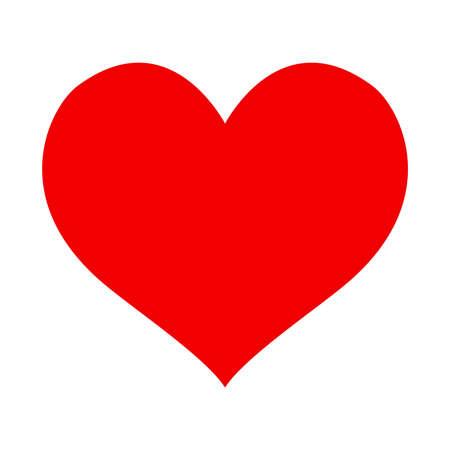 corazon: icono del vector del corazón