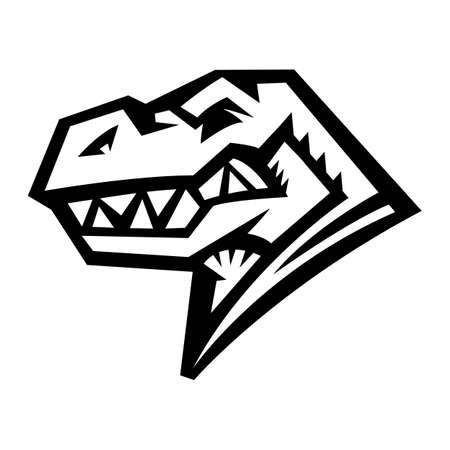 Dinosaur T-Rex Vector Illustration