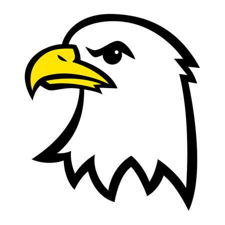 eagle flying: Eagle Head