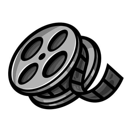 35mm film motion picture camera: Movie Film Reel