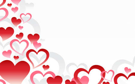 romantic: Romantic Love Hearts Background
