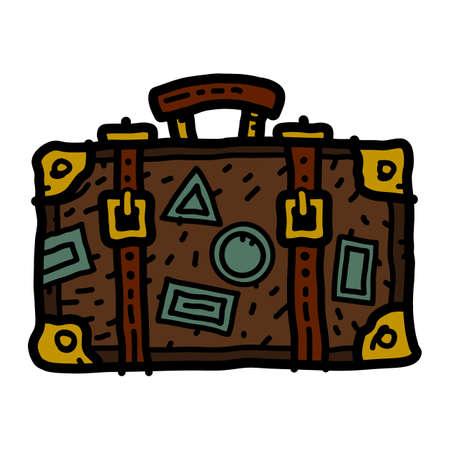 Travel Suitcase Vector Icon