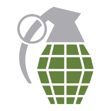 grenade: Hand grenade vector illustration Illustration