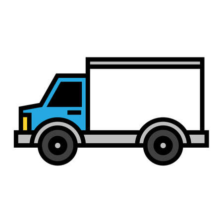 delivery truck: Delivery Truck