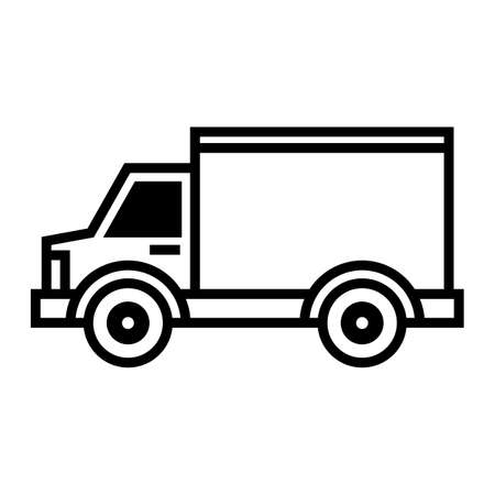 Delivery Truck Stock Vector - 54204982