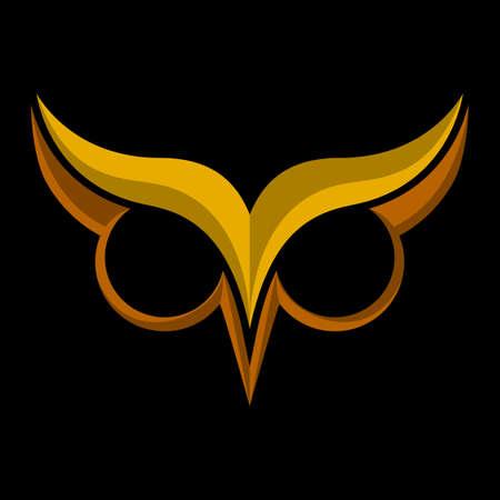 owl symbol: Owl vector cartoon