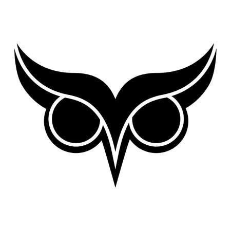 owl vector: Owl vector cartoon