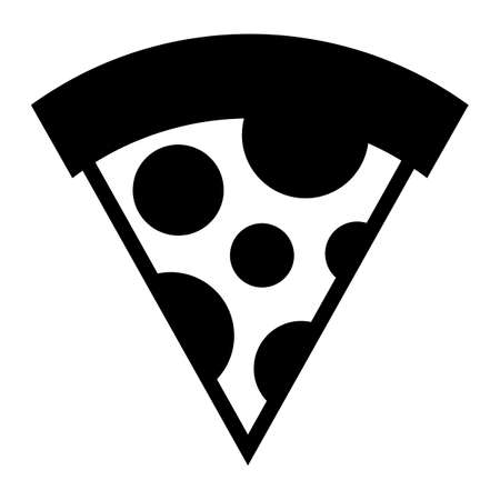 Pizza Slice vector icon Ilustração