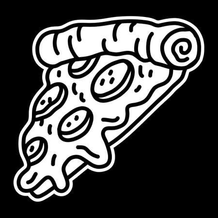 Pizza Slice vector icon 向量圖像