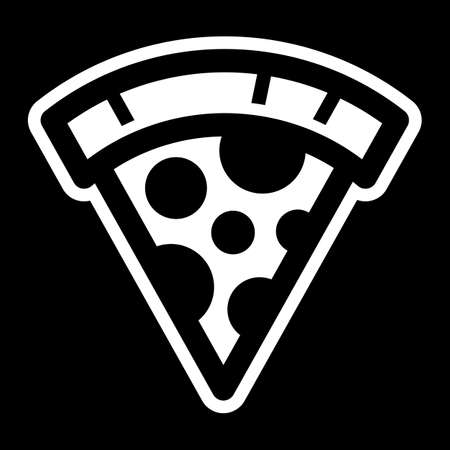 ピザのスライスのベクトルのアイコン  イラスト・ベクター素材