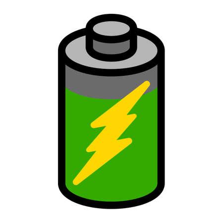 Battery Energy vector icon