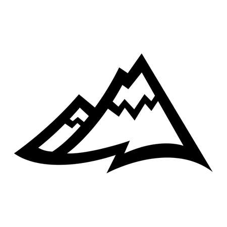 mountain range: Mountain Range vector icon