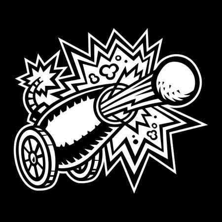 cannonball: War Cannon Firing Cannonball