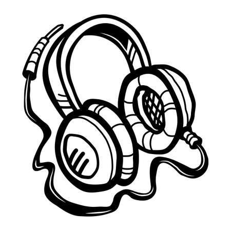accessory: Headphones Music Accessory vector icon