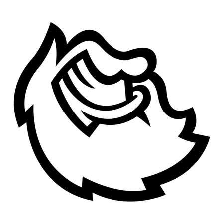 burly: Beard Illustration