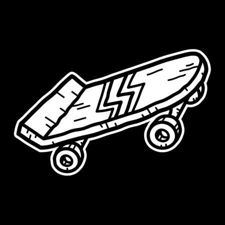 skateboard park: Skateboard