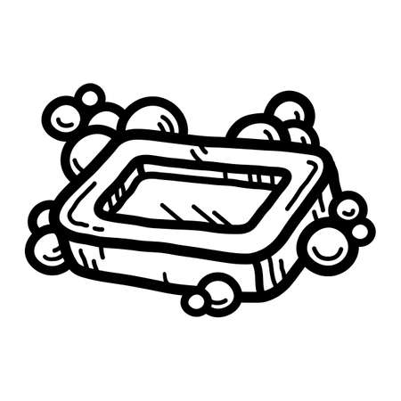 Bar of Soap Illustration