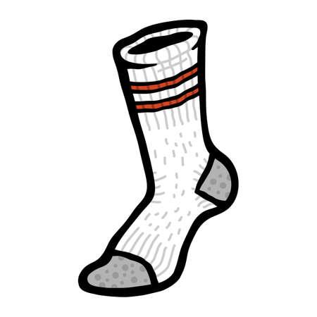 Socks Clothing for Feet Çizim