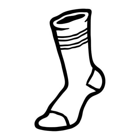 Socks Clothing for Feet Illustration