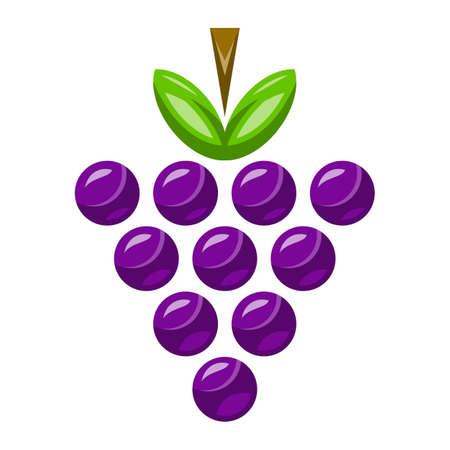 포도 무리 과일 음식 건강한 간식