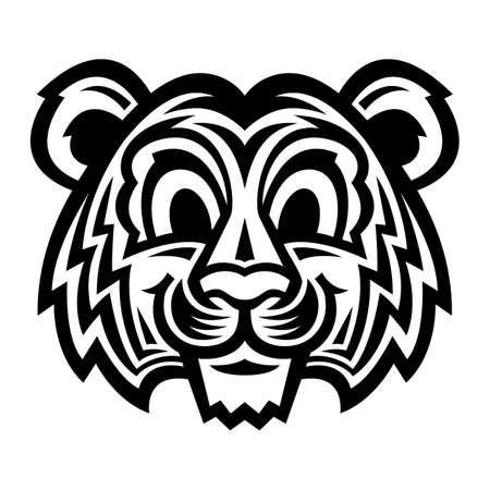 Cute Cartoon Tiger Cat