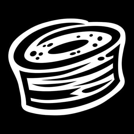 Sushi Asian Food Ilustrace