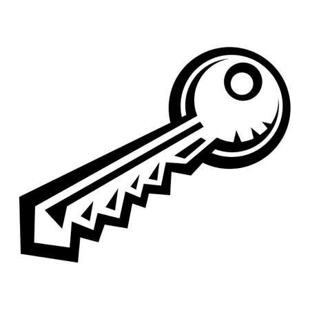 lock and key: Metal Key Lock Illustration