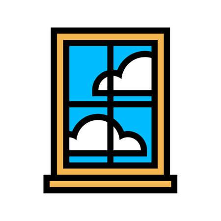 pane: Window Frame Glass Pane Illustration