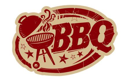 BBQ Grill vecteur icône