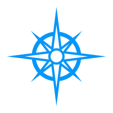 compass rose: Navigation Travel Compass Illustration