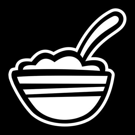 Bowl of Cereal icon Çizim