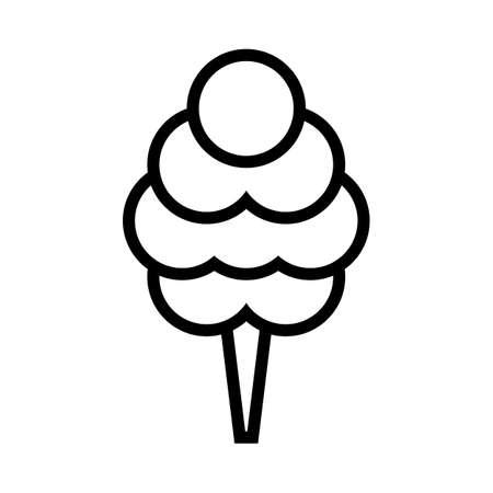 Cotton candy vector