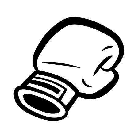 Boxing Gloves Punching Illustration