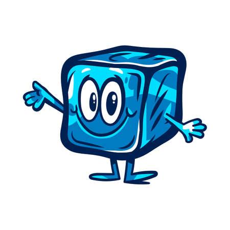 Glaçon congelé Vecteurs