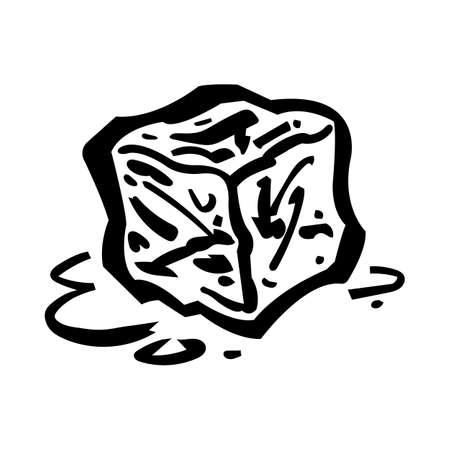 Glaçon congelé