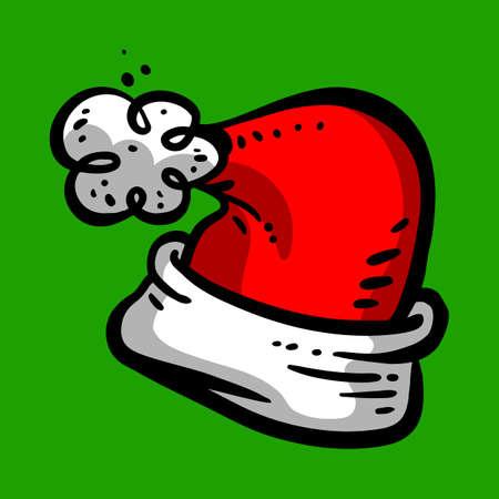 Santa Claus hat Çizim