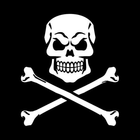 Skull graphic Vetores