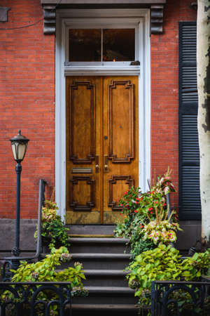 a beautiful old door Stock Photo