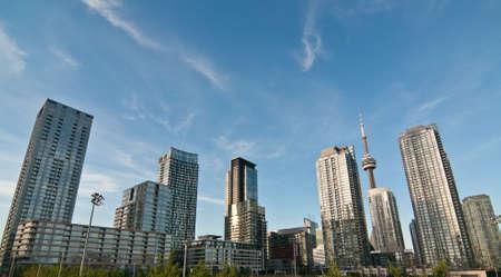 A shot of the Toronto skyline